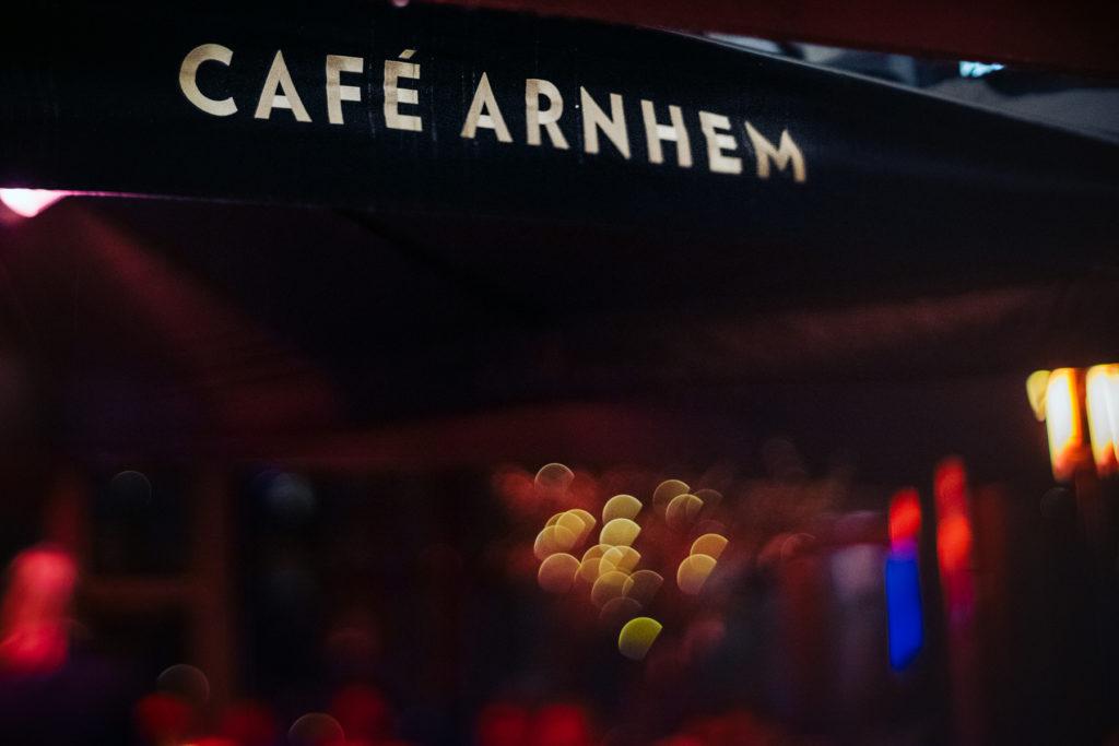 Café Arnhem parasol