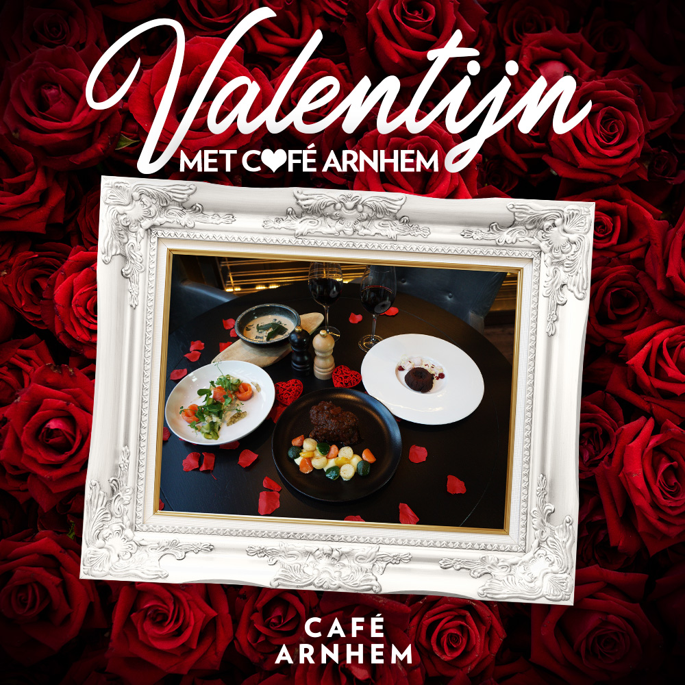 Cafe Arnhem Valentijn dinerbox